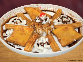 Tequila's Special Dessert